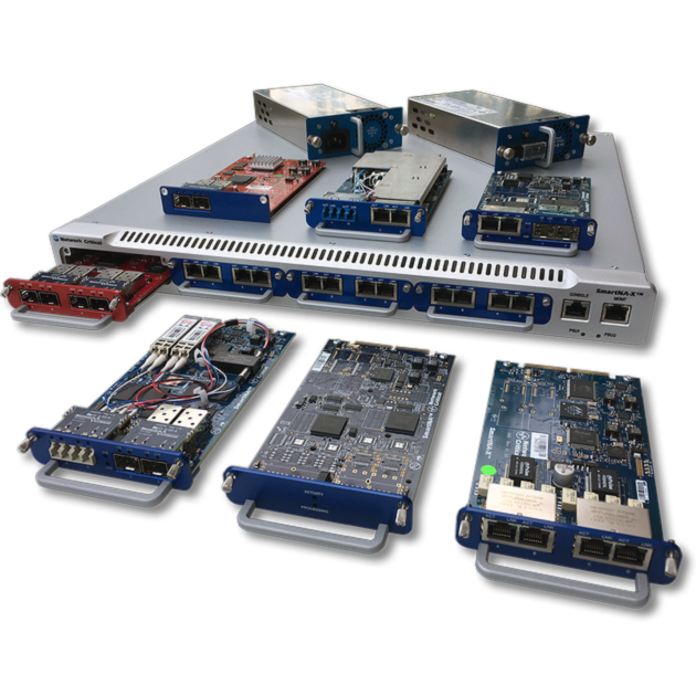 SmartNA-X 模組式1/10G 網路流量複製器 1
