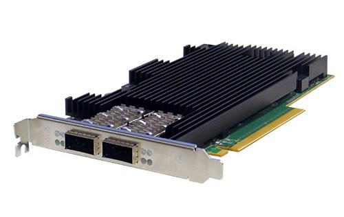 Silicom內容感知導流伺服器卡<br/>PE3100G2DQIR 1