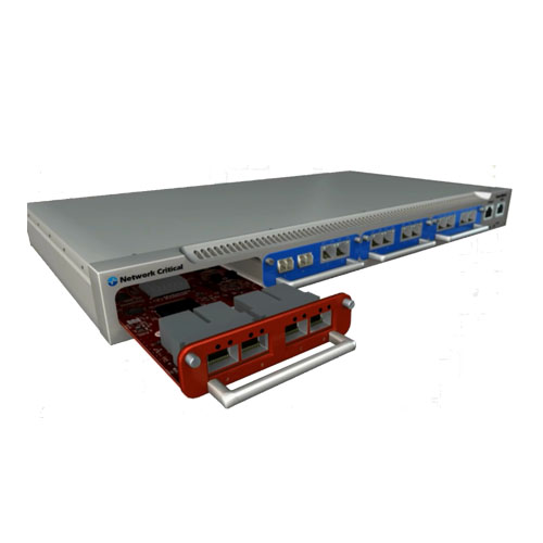 SmartNA-X 模組式1/10G 網路流量複製器 3