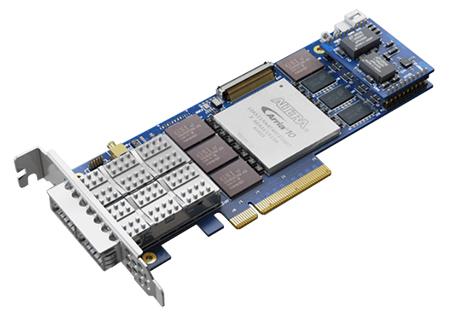 FB2XLGG2@A10GX1150 FPGA Server Adapter 1