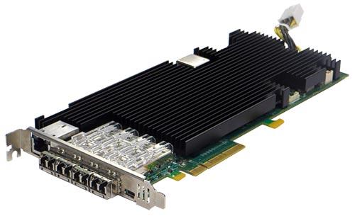 PE310G4FA2I71 Server Adapter Silicom Programmable Application Accelerator SDI 40/10 Gigabit Servers Adapter 1