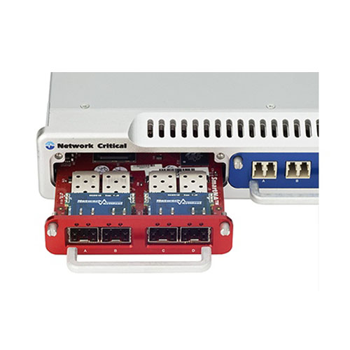 SmartNA-X 模組式 1/10G 網路流量 複製器 / 分流器 4