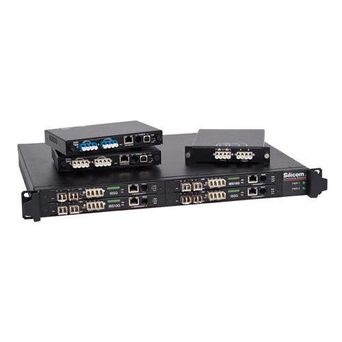 Silicom 1G 光纖 旁路交換器Bypass Switch/TAP 2