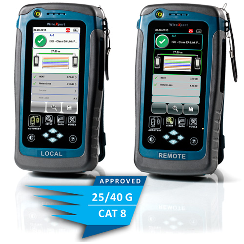Softing WireXpert CAT8佈線標準驗證證測試儀 1